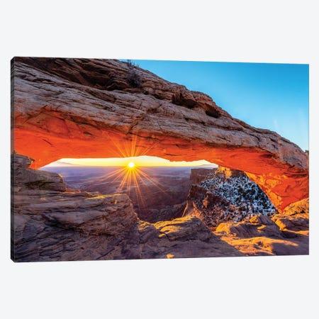 Mesa Arch  Canvas Print #SKR135} by Susanne Kremer Canvas Artwork