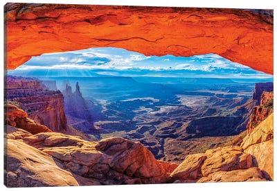 Mesa Arch Sunrise  Canvas Art Print