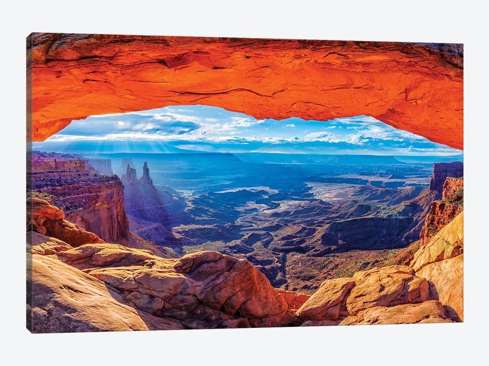 Mesa Arch Sunrise  by Susanne Kremer 1-piece Canvas Print