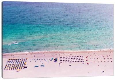 Miami Beach Arial View II Canvas Art Print