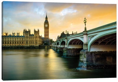 Big Ben and Palace of Westminster IV Canvas Art Print