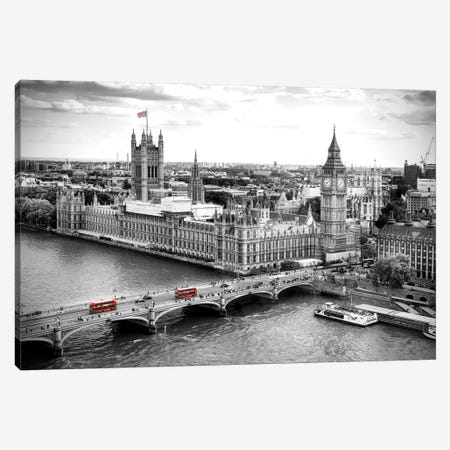 Big Ben and Palace of Westminster V  Canvas Print #SKR14} by Susanne Kremer Canvas Wall Art