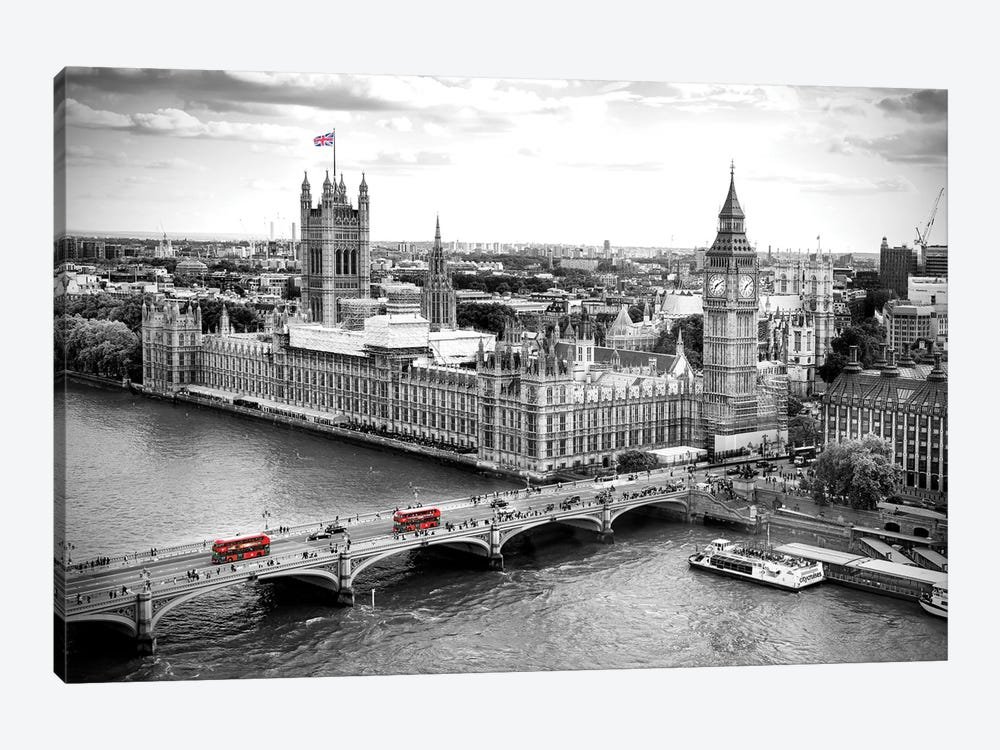 Big Ben and Palace of Westminster V  by Susanne Kremer 1-piece Canvas Wall Art