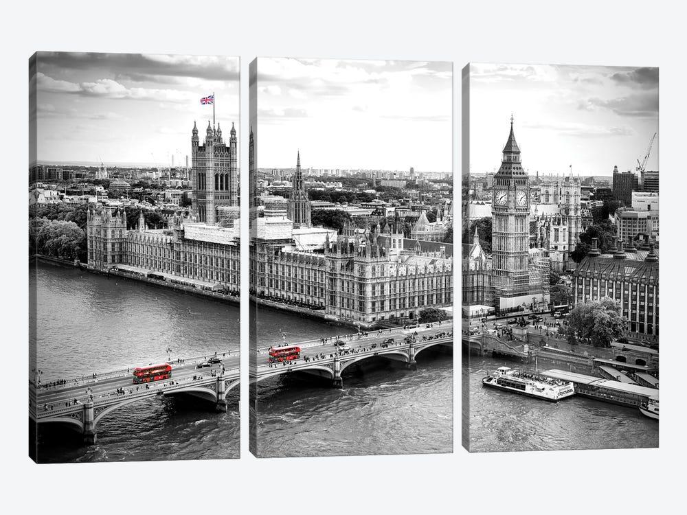 Big Ben and Palace of Westminster V  by Susanne Kremer 3-piece Canvas Artwork