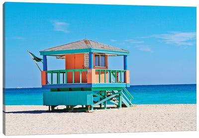 Ocean Drive Lifeguard House South Beach III Canvas Art Print
