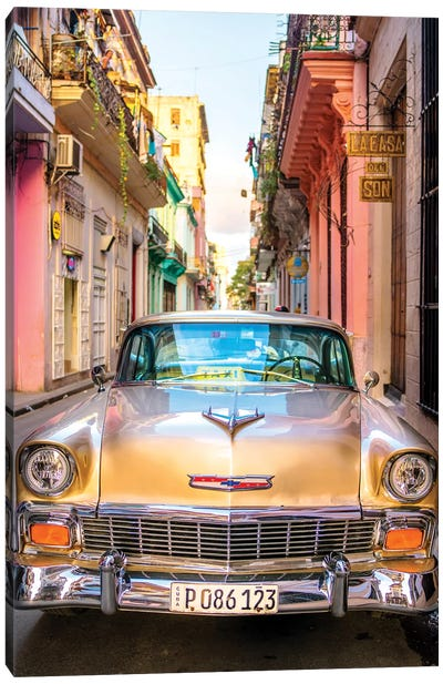 Oldtimer Old Havana I Canvas Art Print