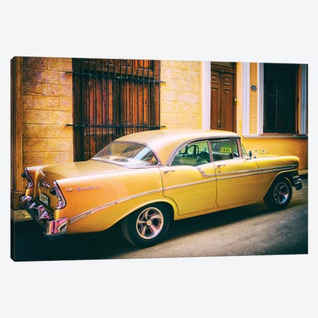 Oldtimer Old Havana II Canvas Print #SKR162} by Susanne Kremer Canvas Art