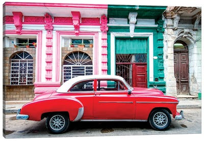Oldtimer, Old Havana III Canvas Art Print