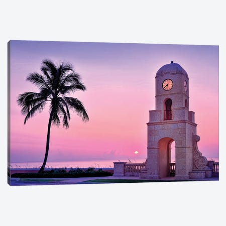Palm Beach Sunrise  Canvas Print #SKR169} by Susanne Kremer Canvas Art