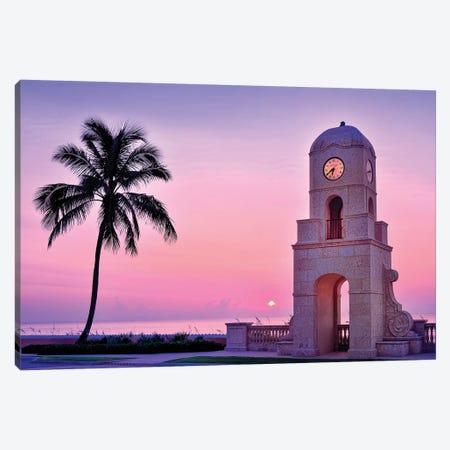 Palm Beach Sunrise  Canvas Print #SKR169} by Susanne Kremer Canvas Art