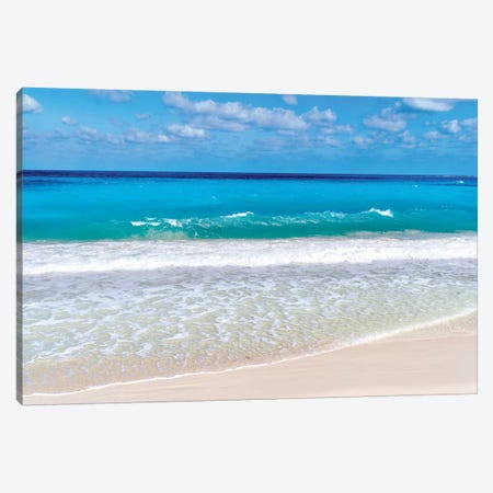Paradise Island Cabbage Beach  Canvas Print #SKR170} by Susanne Kremer Art Print
