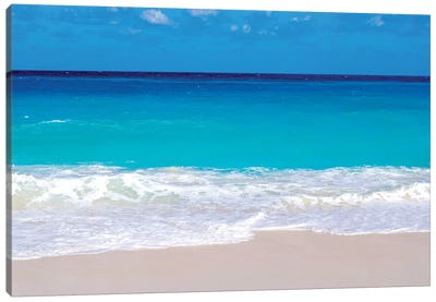 Paradise Island Cabbage Beach  Canvas Art Print