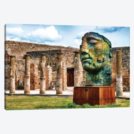Pompeii Archeological Site I Canvas Print #SKR181} by Susanne Kremer Canvas Artwork