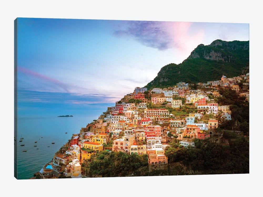 Positano, Sunset  by Susanne Kremer 1-piece Canvas Print