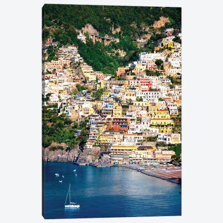 Positano, View Of Town  Canvas Print #SKR193} by Susanne Kremer Canvas Art Print