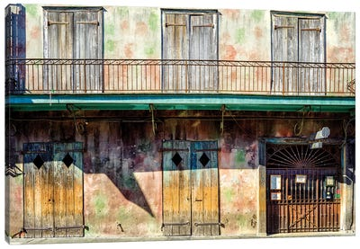 Preservation Hall, Jazzclub French Quarter Canvas Art Print