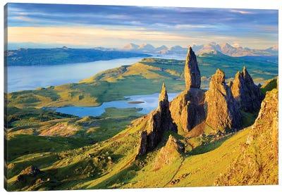 Quiraing and Trotternish Ridge Isle of Sky I Canvas Art Print