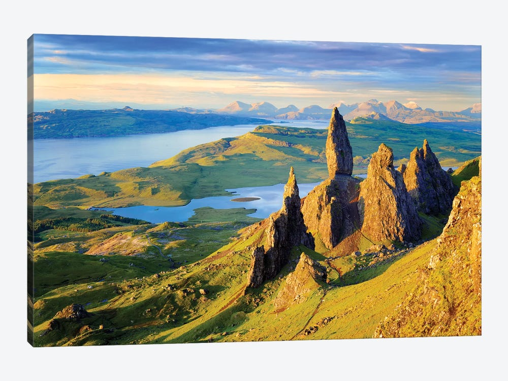 Quiraing and Trotternish Ridge Isle of Sky I by Susanne Kremer 1-piece Canvas Artwork