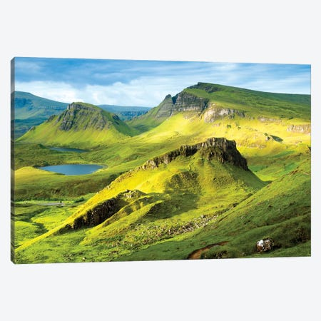 Quiraing and Trotternish Ridge Isle of Sky II Canvas Print #SKR196} by Susanne Kremer Canvas Artwork