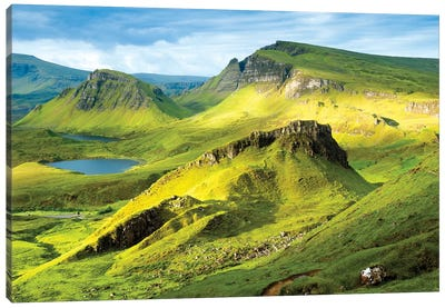 Quiraing and Trotternish Ridge Isle of Sky II Canvas Art Print