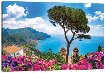 Ravello, View of Amalfi Coast II Canvas Art Print