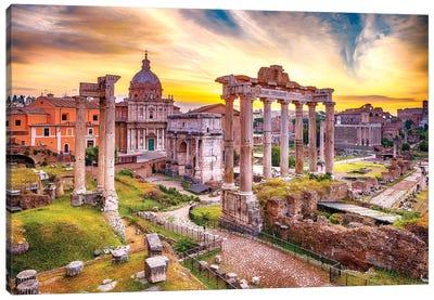 Roman Forum I Canvas Art Print