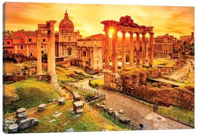 Roman Forum II Canvas Art Print