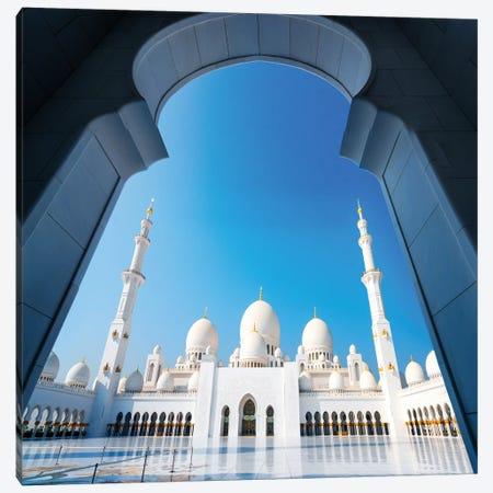 Sheikh Zayed Grand Mosque I Canvas Print #SKR212} by Susanne Kremer Canvas Art