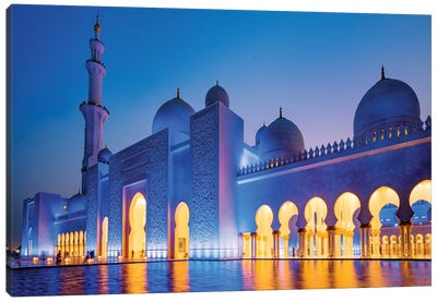 Sheikh Zayed Grand Mosque II Canvas Art Print