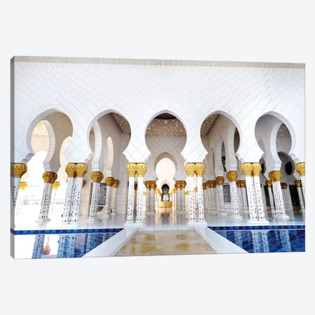 Sheikh Zayed Grand Mosque IV Canvas Print #SKR215} by Susanne Kremer Art Print