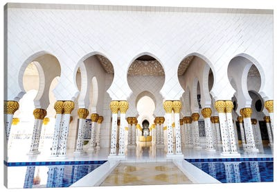 Sheikh Zayed Grand Mosque IV Canvas Art Print