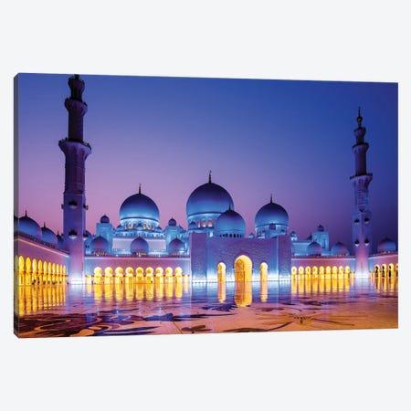 Sheikh Zayed Grand Mosque V Canvas Print #SKR216} by Susanne Kremer Art Print