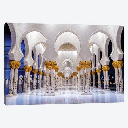 Sheikh Zayed Grand Mosque VI Canvas Print #SKR217} by Susanne Kremer Canvas Print