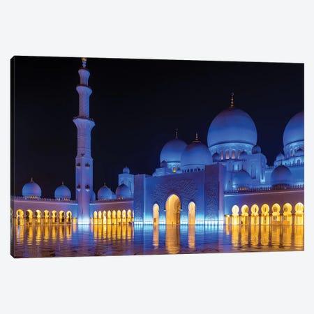Sheikh Zayed Grand Mosque VII Canvas Print #SKR218} by Susanne Kremer Canvas Artwork