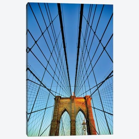 Brooklyn Bridge II Canvas Print #SKR21} by Susanne Kremer Canvas Wall Art