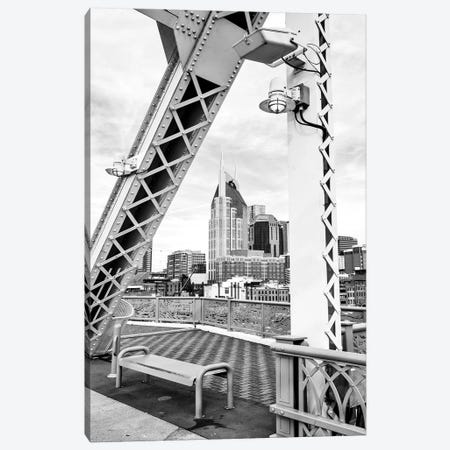 Skyline of Nashville  Canvas Print #SKR221} by Susanne Kremer Canvas Art Print