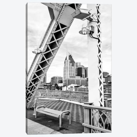 Skyline of Nashville  Canvas Print #SKR221} by Susanne Kremer Canvas Art Print