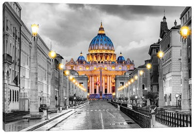 St. Peters Basilica Vatican City  Canvas Art Print