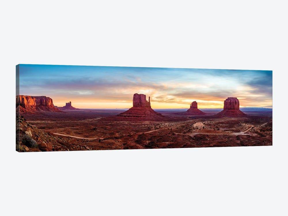 Sunrise Monument Valley Navajo Tribal Park  by Susanne Kremer 1-piece Canvas Print