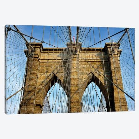 Brooklyn Bridge III Canvas Print #SKR22} by Susanne Kremer Canvas Artwork