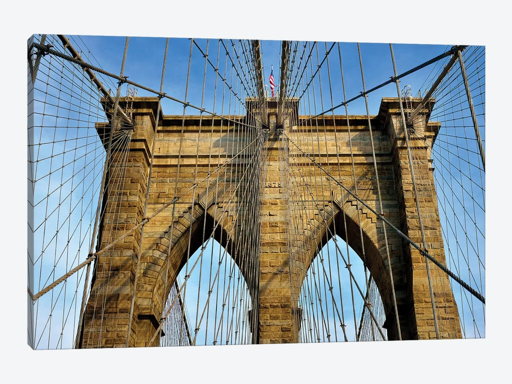 Brooklyn Bridge III by Susanne Kremer 1-piece Canvas Art Print