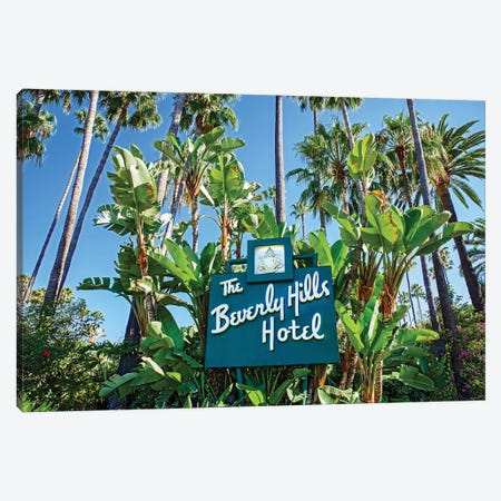 The Beverly Hills Hotel I Canvas Print #SKR243} by Susanne Kremer Art Print