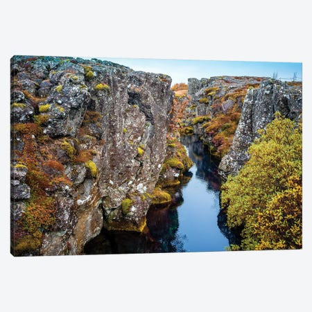 Thingvellir National Park  Canvas Print #SKR247} by Susanne Kremer Canvas Wall Art