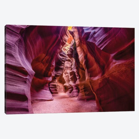 Upper Antelope Canyon Navajo Tribal Park Canvas Print #SKR255} by Susanne Kremer Canvas Art Print