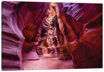Upper Antelope Canyon Navajo Tribal Park Canvas Art Print