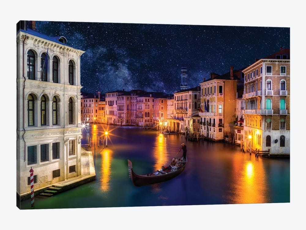View of Grand Canal  by Susanne Kremer 1-piece Canvas Art
