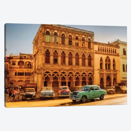 Vintage Car Old Havana  Canvas Print #SKR262} by Susanne Kremer Canvas Print