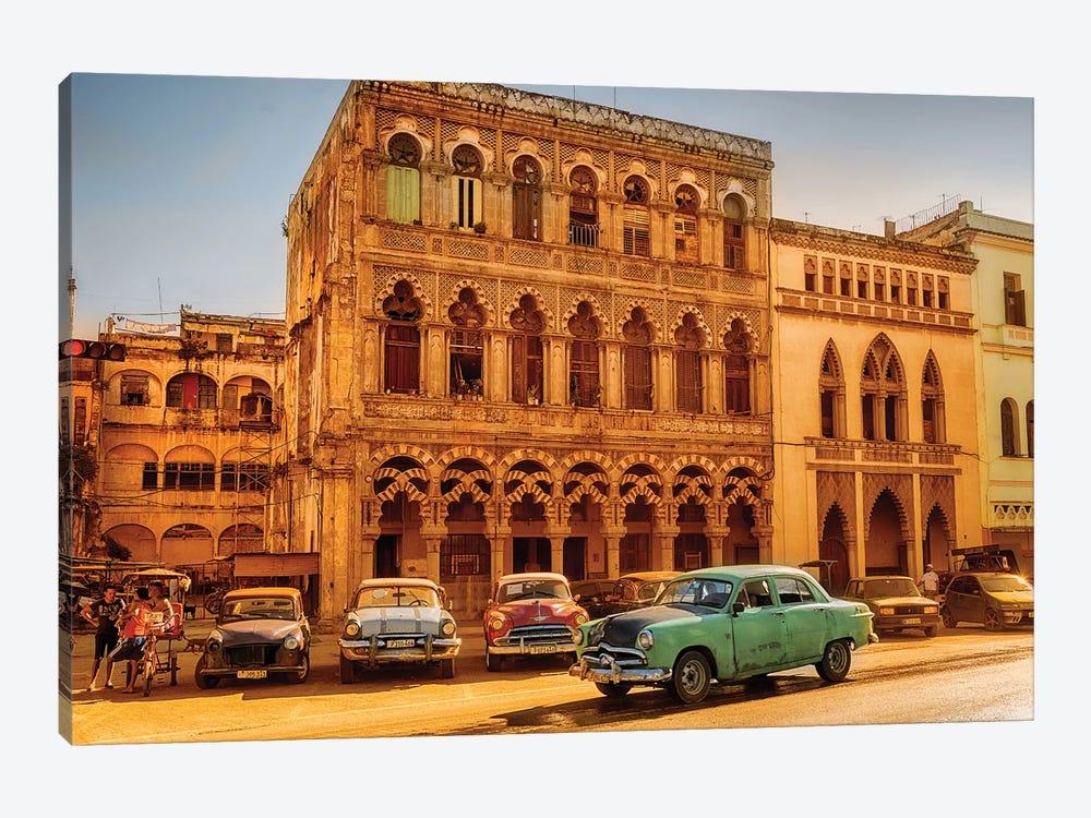 Vintage Car Old Havana  by Susanne Kremer 1-piece Canvas Art