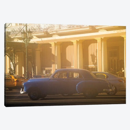 Vintage Car, Paseo de Marti 3-Piece Canvas #SKR263} by Susanne Kremer Canvas Print