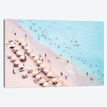 Waikiki Beach  Canvas Print #SKR264} by Susanne Kremer Canvas Wall Art